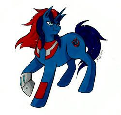 Tfp ponies ultra magnus by kagekirite-d78c9zu