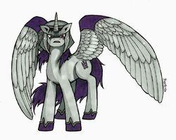 Tfp ponies megatron by kagekirite