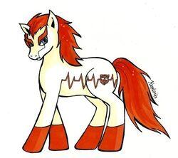Tfp ponies ratchet by kagekirite-d5hkdqy