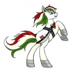 Tfp ponies wheeljack by kagekirite-d5namyw