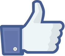 Facebook like thumb
