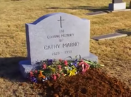 Dead Right Cathy's grave