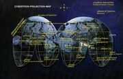 Cybertron Projection Map