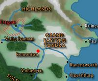 Map-remonriver