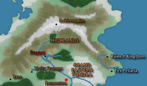 Map-highlands
