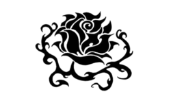 Flag-blackrose