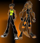 Leon Blake, the Jock Werewolf