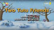 Two Tutu Friends