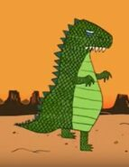 Allosaurus Horrible Histories