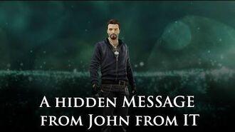 John from IT Easter Egg (hidden audio) Assassin's Creed 4 Black Flag