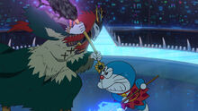Giga vs Doraemon
