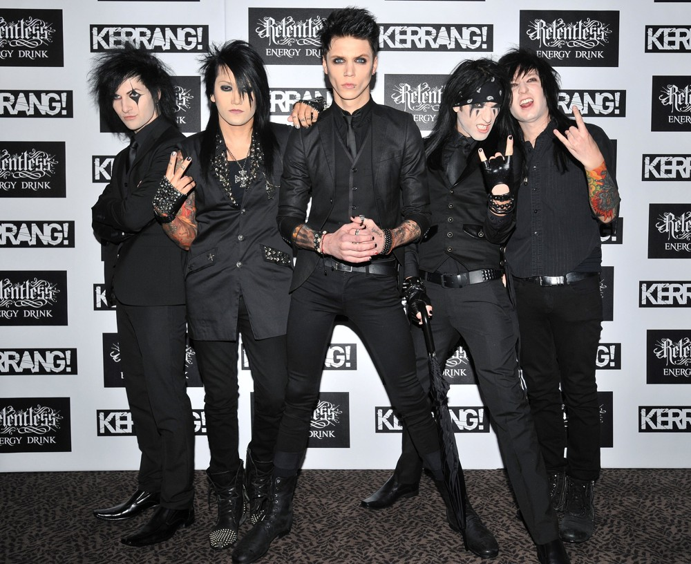 Black Veil Brides Kerrang Awards 2012 02