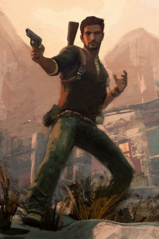 Uncharted iPhone wallpaper