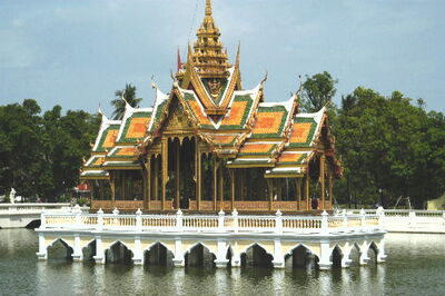 Central Thailand-summer palace thai