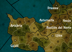Mapa Artabria full