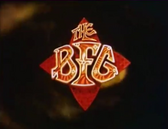 The BFG (1989 film) title card