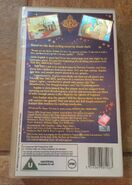 The BFG (UK VHS 1990) Back cover