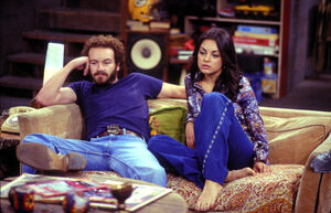 Kelso en Jackie dating