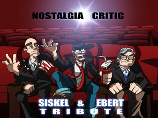 NC Siskel and Ebert tribute by MaroBot