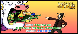 AT4W TMNT meet Archie by Masterthecreater