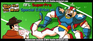 Nfl superpro special edition 1 at4w