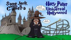Some jerk harry potter universal hollywood