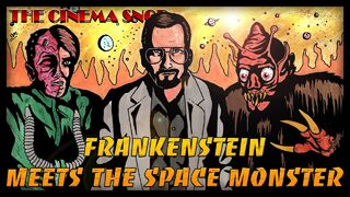 Frankenstein meets space monster at4w