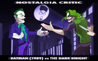 NC Batman vs The Dark Knight by MaroBot