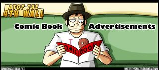 Comic book advertisements at4w