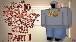 Top ten worst 2018 songs tits