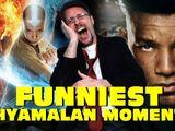 Top 11 Funniest Shyamalan Moments