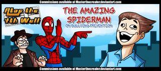 Spider-man bullying at4w