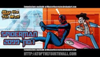 Spider-Man 2099 -1 poster