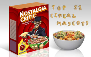 NC Top 11 cereal mascots by MaroBot