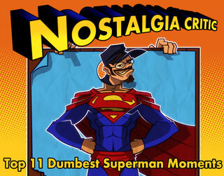 NC top 11 dumbest Superman by MaroBot