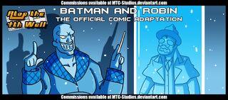 Batman robin comic adaptation at4w