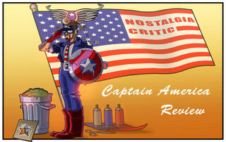NC Captain America by MaroBot