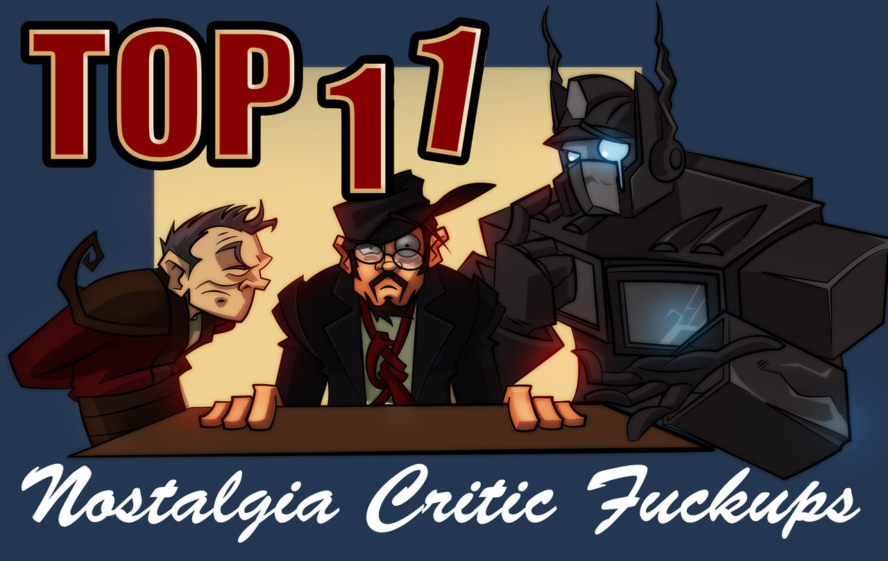 Top 11 F*ckups | Channel Awesome | FANDOM powered by Wikia
