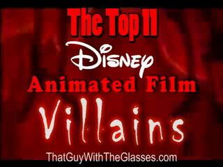 38 Nostalgia Critic - Top 11 Disney Villains