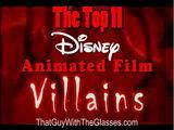 Top 11 Disney Villains