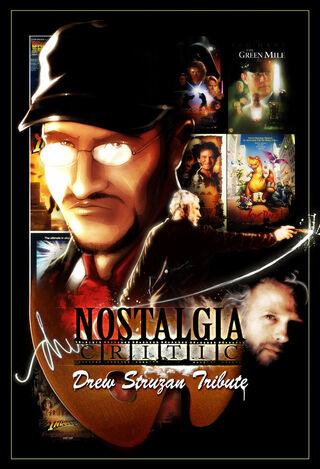 Nostalgia Critic Drew Struzan by MaroBot