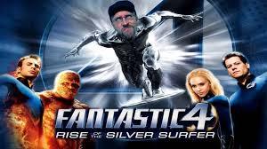 Fantastic 4 silver surfer nc