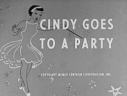 Cindy goes to party title