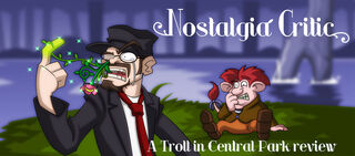 NC Troll in Central Park by MaroBot