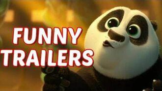 Funny Trailers - Kung Fu Panda 3 Trailer