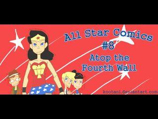 All star comics 8 at4w