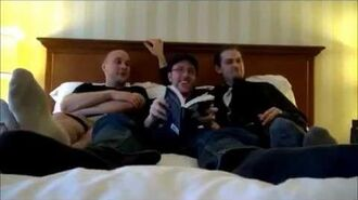 "Nostalgia Critic, Uncle Yo, BrentalFloss, and Team Four Star Read ""50 Shades of Grey"""