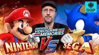 Nintendo vs. Sega The Console Wars w The Nostalgia Critic - Awesome Video Game Memories