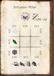 Infusion Altar Recipe for Paving Stone