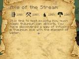 Axe of the Stream